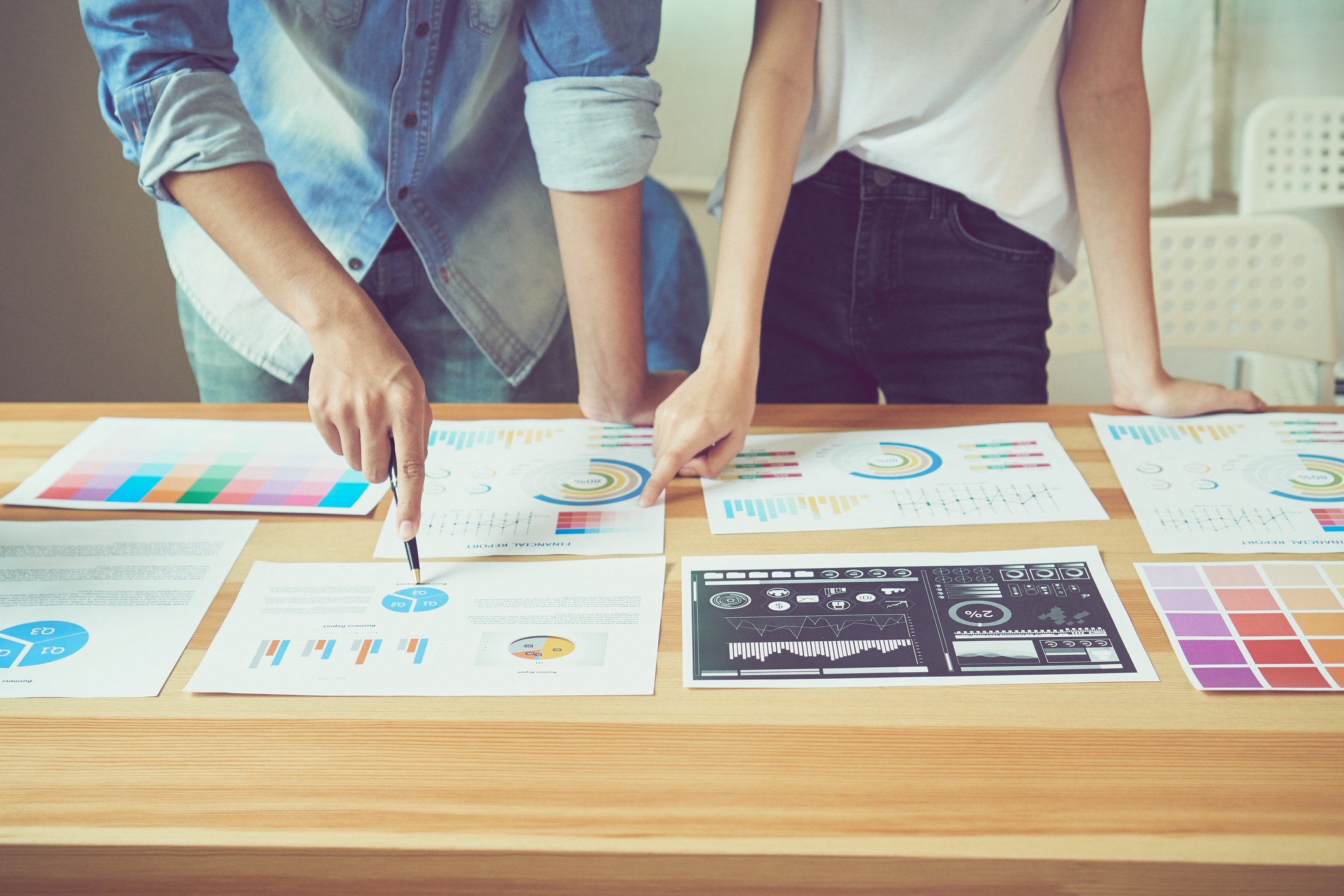 marketing-strategy-data-on-a-table