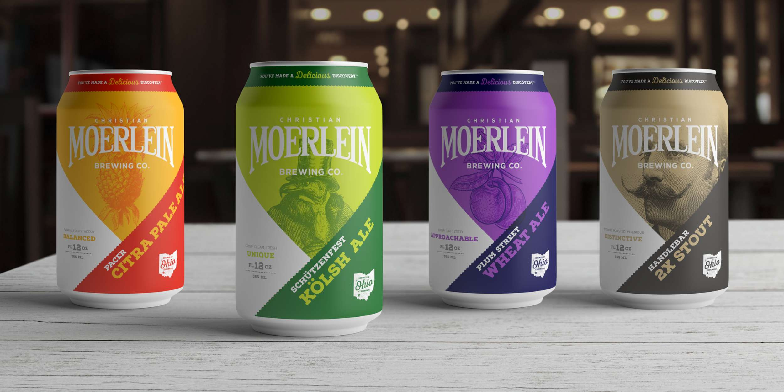 branding agency in cincinnati Moerlein proposed design