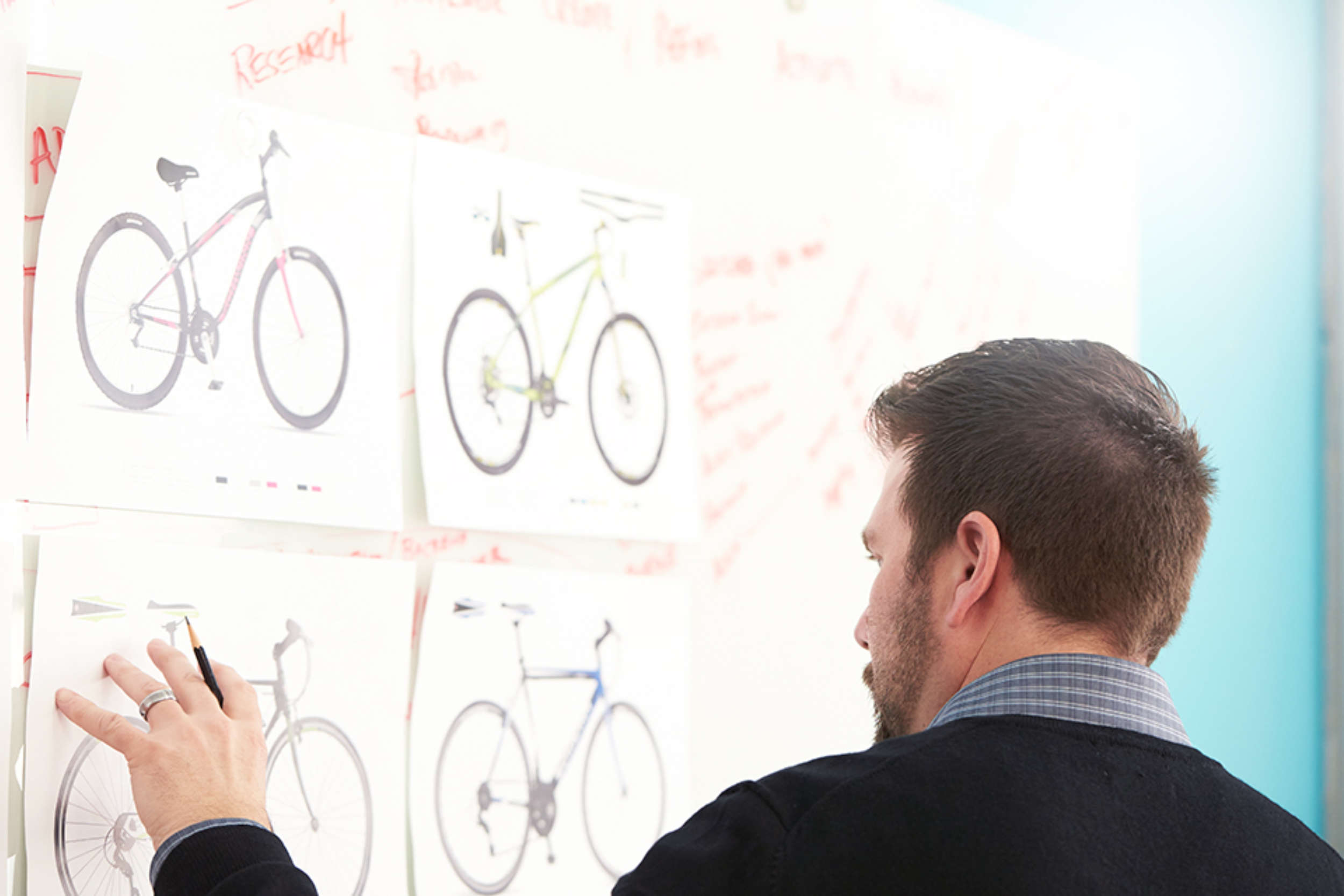 graphic design critique of bike designs