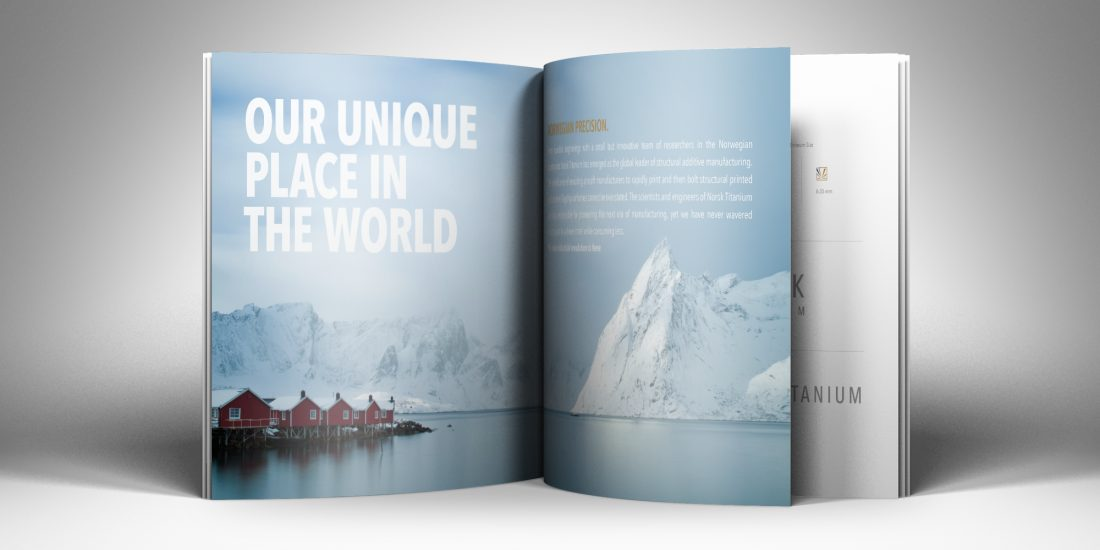 brand marketing firms Norsk Titanium book
