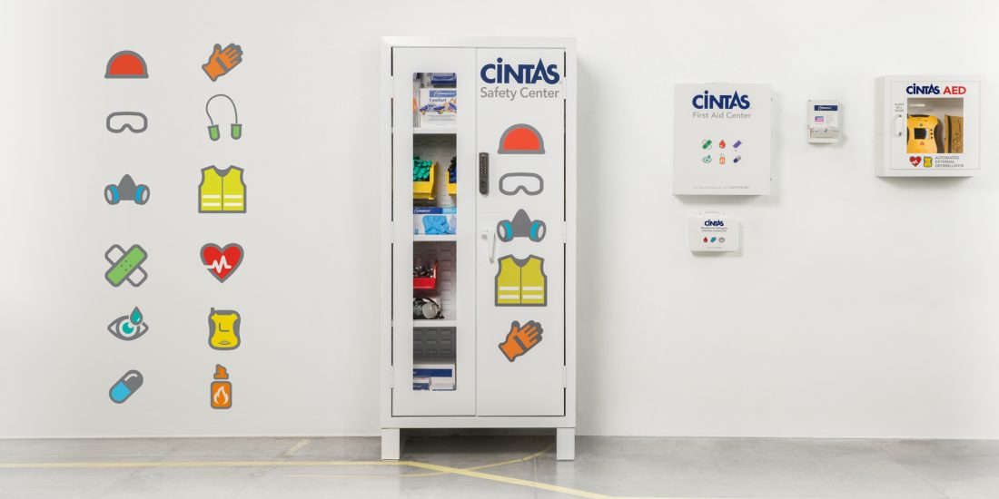 advertising agency Cintas safety icons