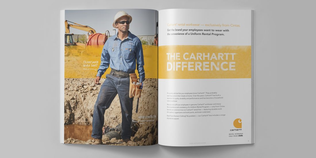cintas carhartt look book