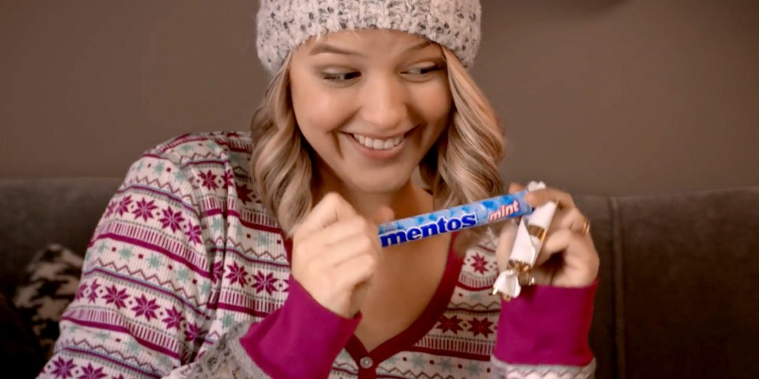brand management company Mentos holiday video
