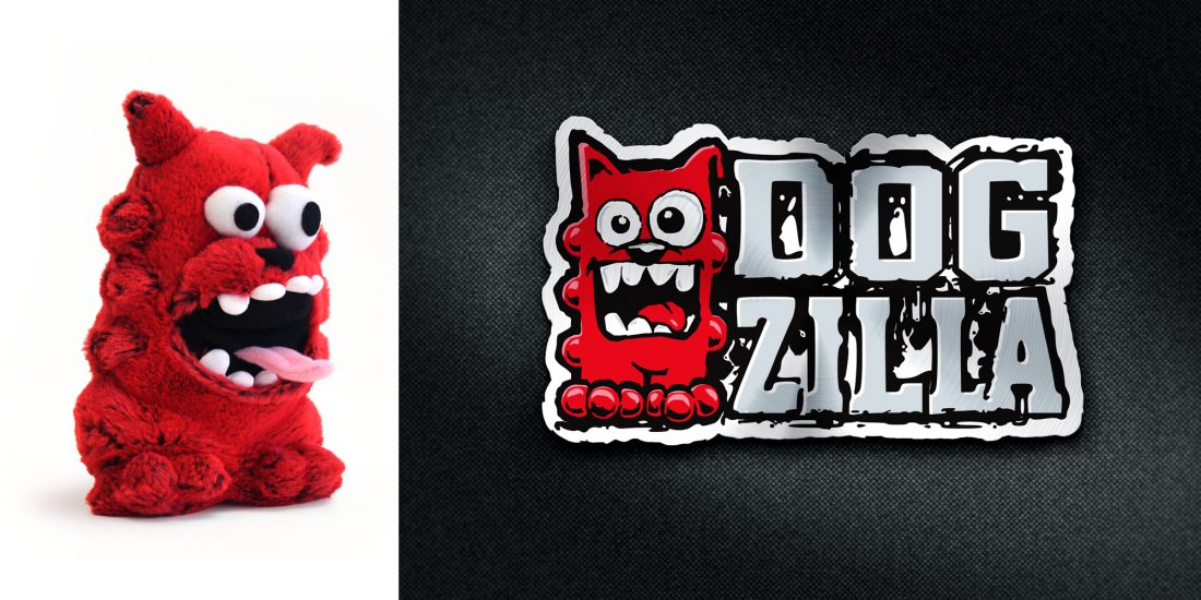 branding and design agency Dogzilla logo