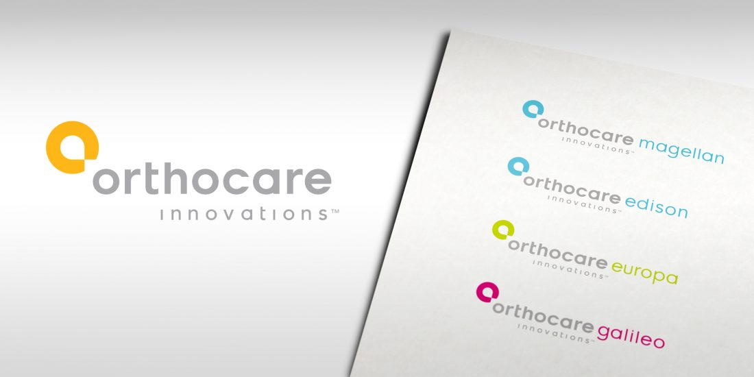 creative project agency Orthocare identity
