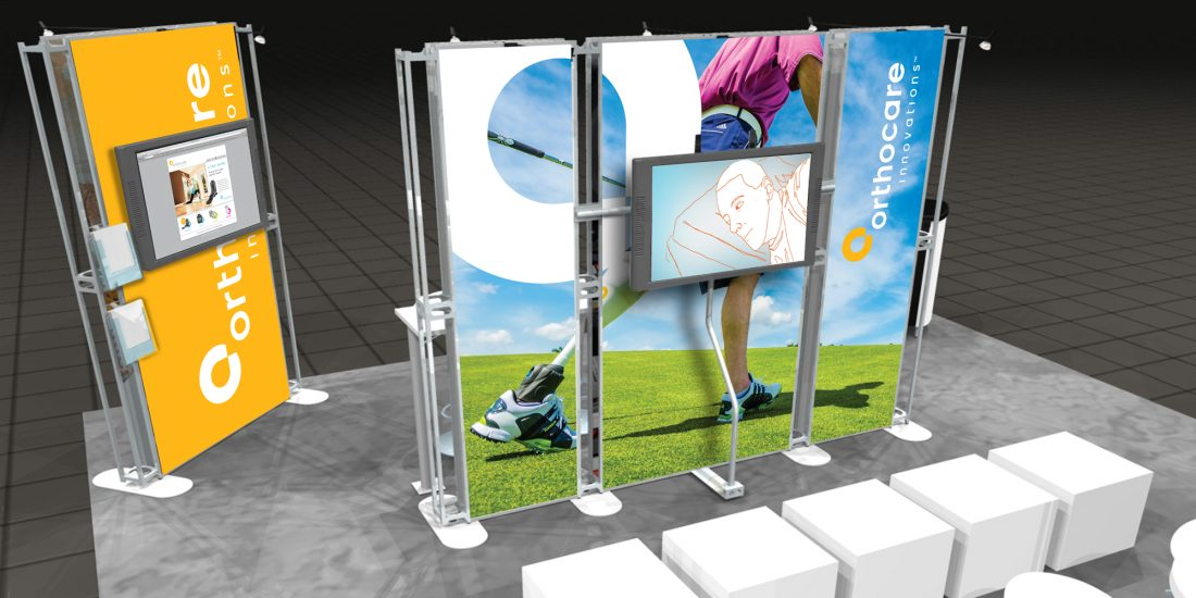 best small design firm Orthocare display