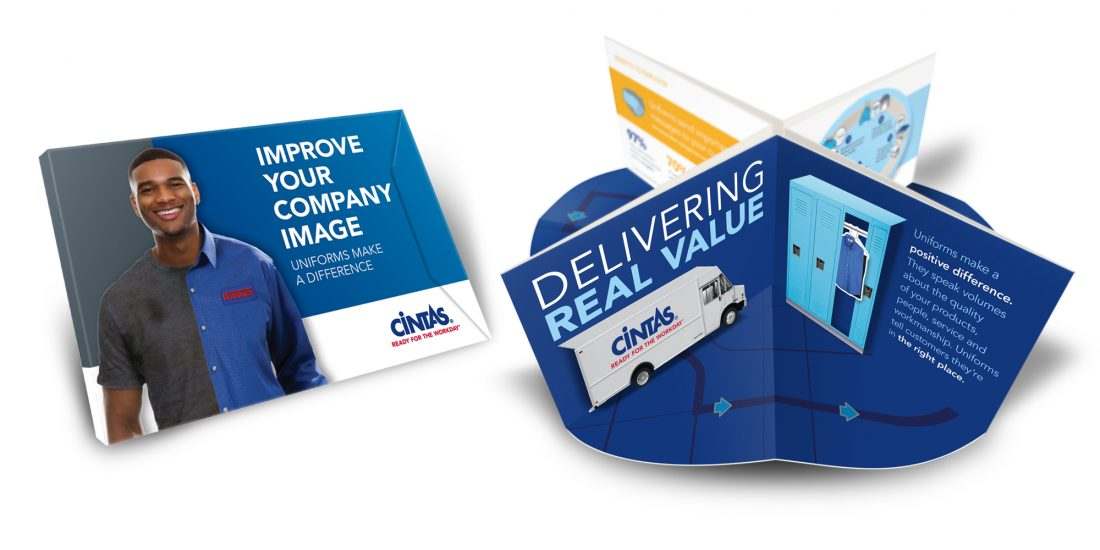 pop up mailer Cintas Uniform Services