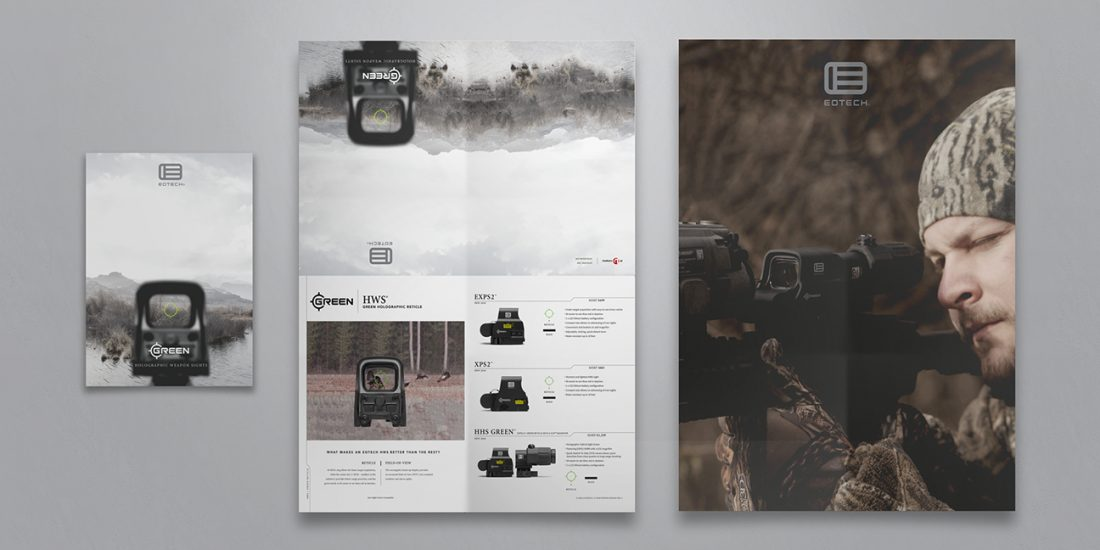 cincinnati design agency EOTECH poster catalog
