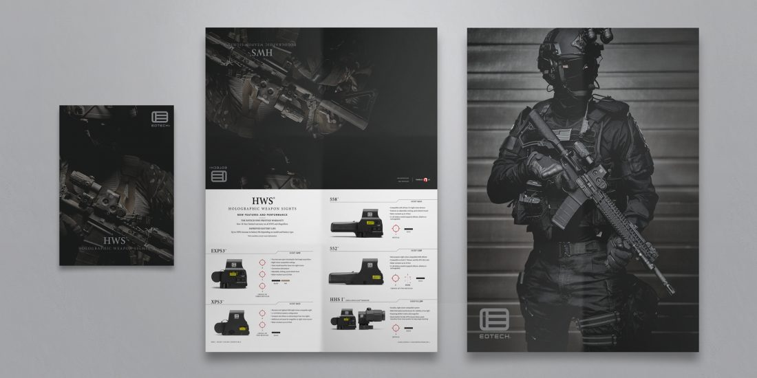 advertising company EOTECH poster catalog
